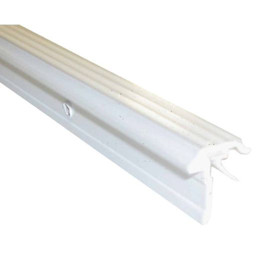 M-D Ultra 3/4 In. x 7 Ft. White T-Astragal Nail-on Door Weatherstrip