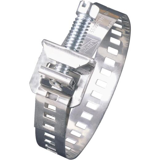Ideal Lox-On 11/16 In. - 2-5/8 In. Stainless Steel Hose Clamp w/Plated Stainless Steel Screw