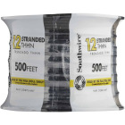 Southwire 500 Ft. 12 AWG Stranded Black THHN Wire Image 2