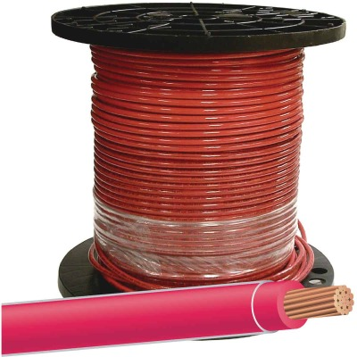 Southwire 500 Ft. 12 AWG Stranded Red THHN Wire