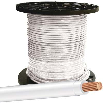 Southwire 500 Ft. 8 AWG Stranded White THHN Wire