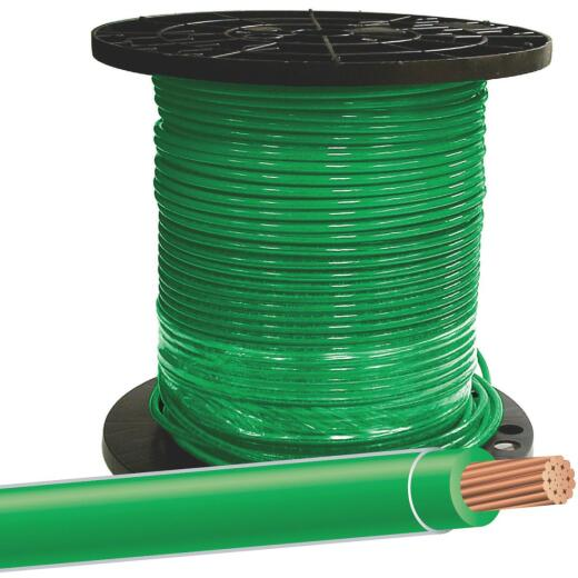 Southwire 500 Ft. 8 AWG Stranded Green THHN Wire