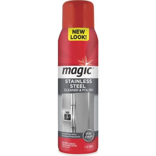 Weiman Magic 17 Oz. Stainless Steel Cleaner & Polish