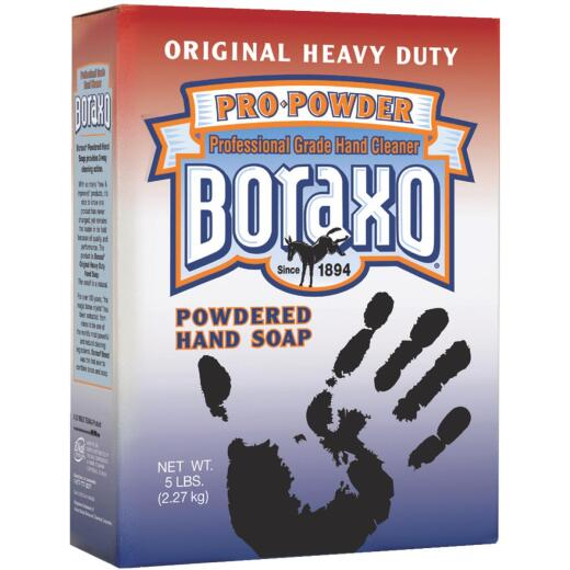 Boraxo Original Heavy Duty Pro-Powder Hand Soap, 5 Lb.