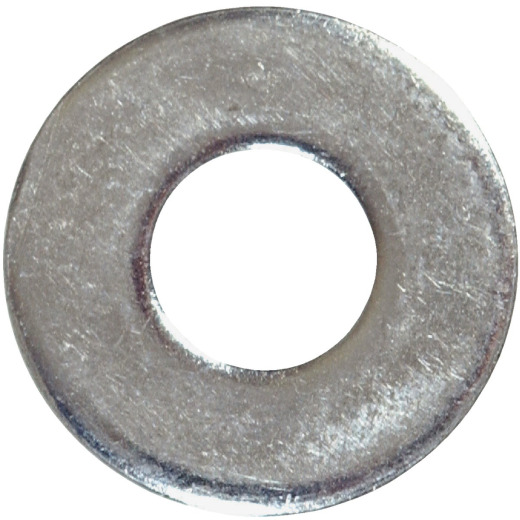 Hillman #8 Steel Zinc Plated Flat SAE Washer (100 Ct.)