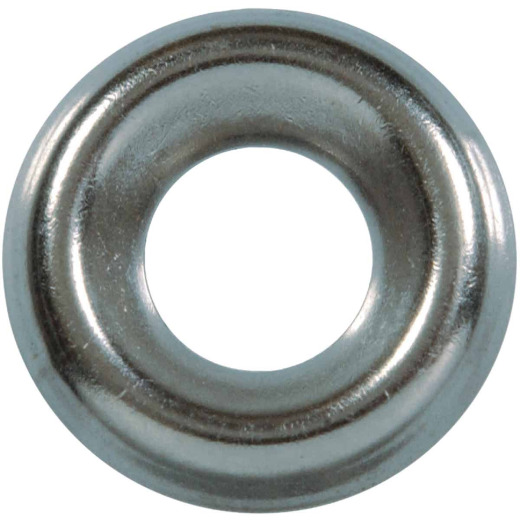 Hillman #8 Steel Nickel Plated Finishing Washer (10 Ct.)