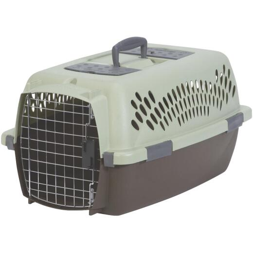 Petmate Aspen Pet 24.1 In. x 16.73 In. x 14.5 In. 15 to 20 Lb. Intermediate Fashion Pet Porter
