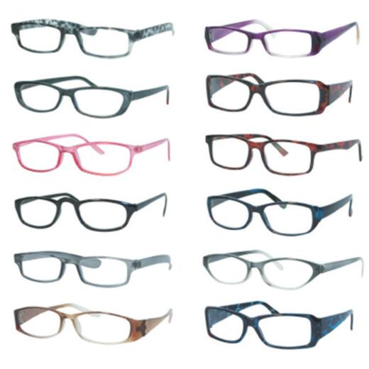 Axiom International 2.75 Diopter Plastic Frame Reading Glasses